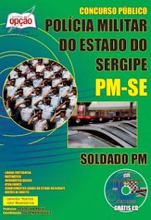 A postila PM do Sergipe Soldado Combatente - PM 3ª Classe (