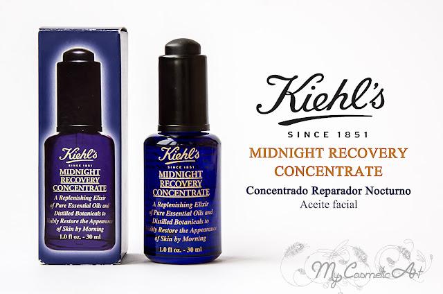 Un 10 para Midnight Recovery Concentrate y los contornos de ojos de Kiehl's