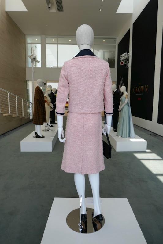 Crown season 2 Jackie Kennedy Chanel suit back