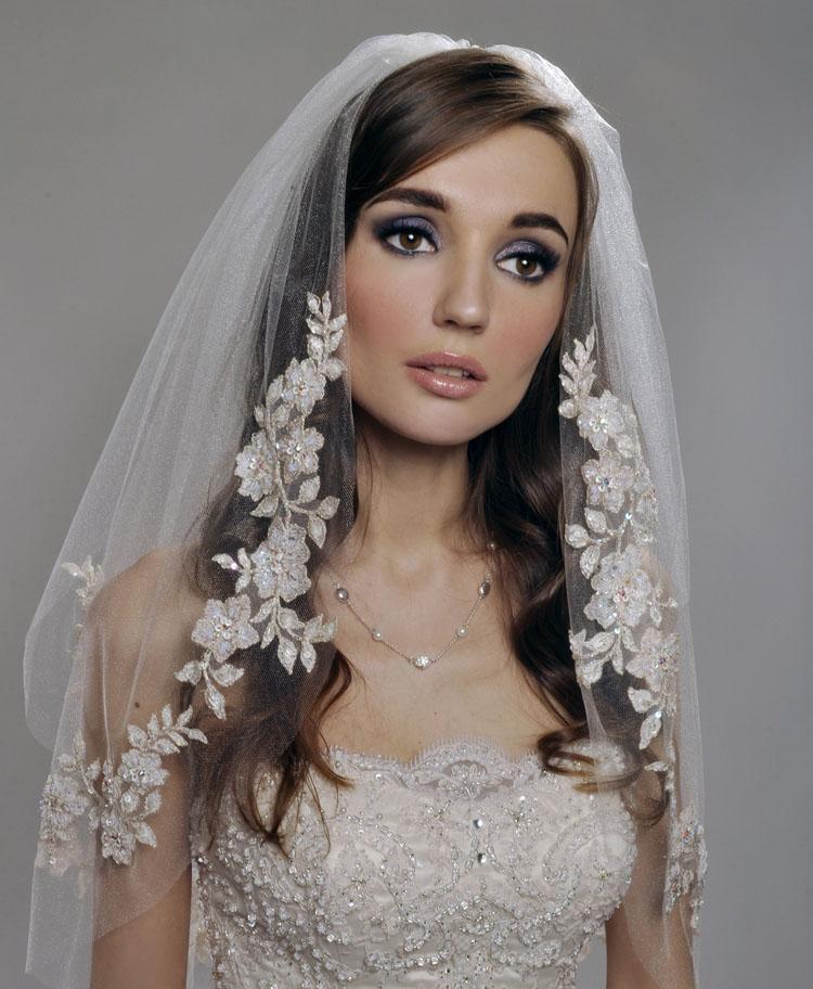 Peinados de novia pelo suelto lacio