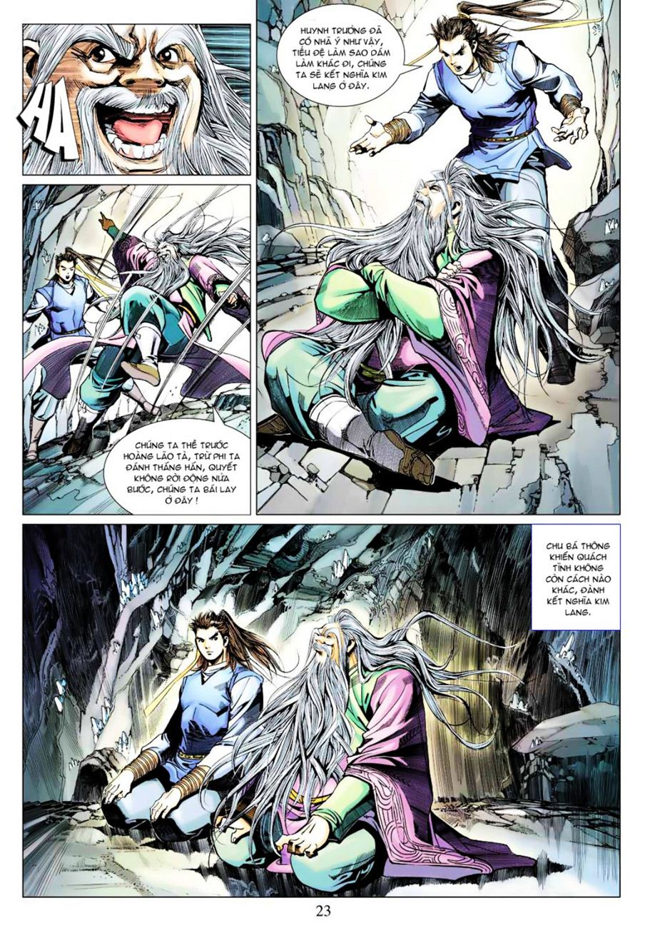 Anh Hùng Xạ Điêu anh hùng xạ đêu chap 40 trang 23