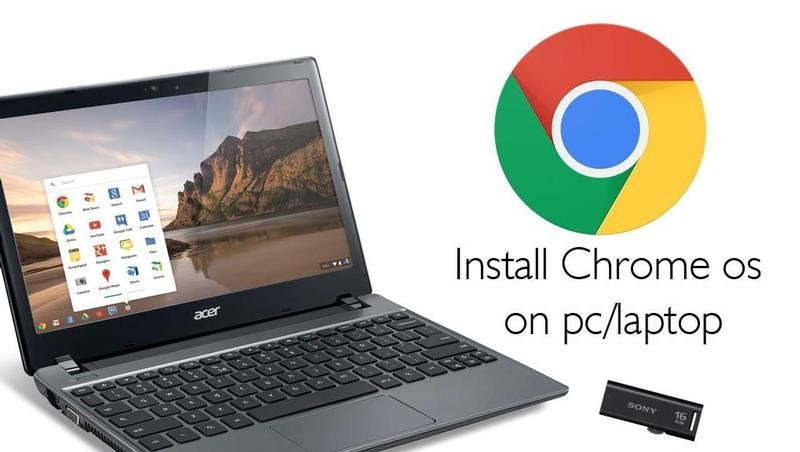 Download Chrome OS ISO file full version for free