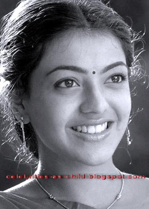 Prominente als Kind Kajal Agarwal Kindheit Fotos
