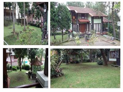 Villa Minimalis Bagus Di Penginapan Istana Bunga Lembang
