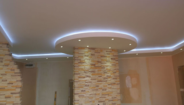 awesome LED strip lighting for ceiling design