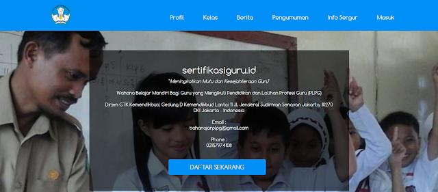 Sertifikasiguru.id - Wahana Belajar Mandiri Guru yang Mengikuti PLPG