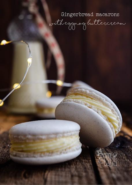 macarons de pan de jengibre