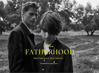 Fatherhood: Mark Vanderloo Poses for Massimo Dutti Paper #36