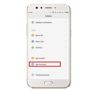 cara menghapus data aplikasi kamera android