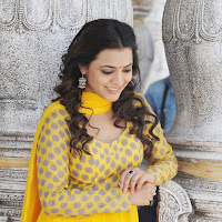 gorgeous ethnic Nisha agarwa in yellow designer suite latest stills in yellow dress