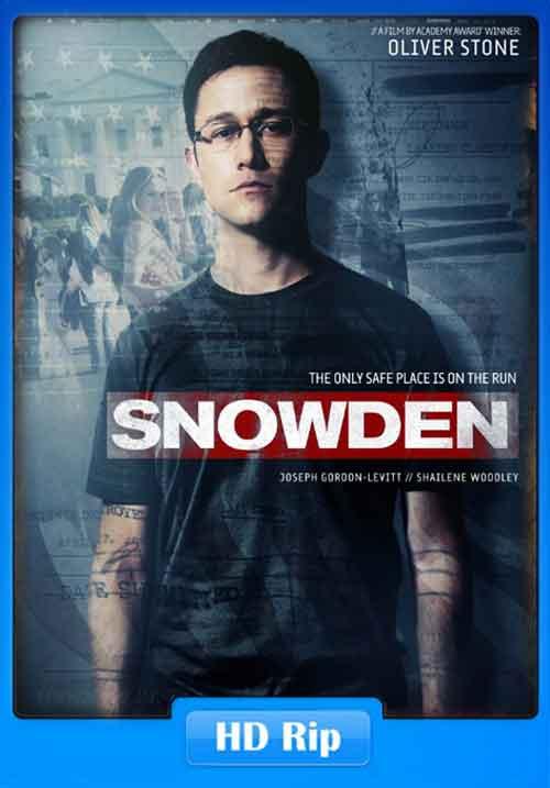 Snowden 2016 Poster