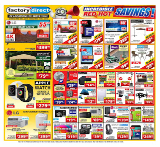 Factory Direct Lowest Price Flyer valid September 19 - 25, 2019