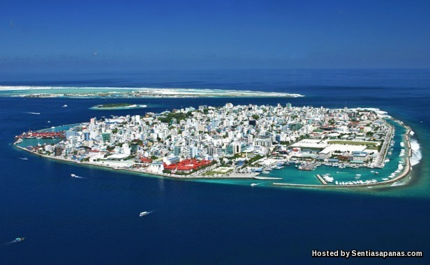 Pulau Thilafushi, Maldives