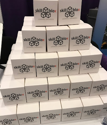 "Image showing a pyramid of boxes labeled ""SkillBlox""."