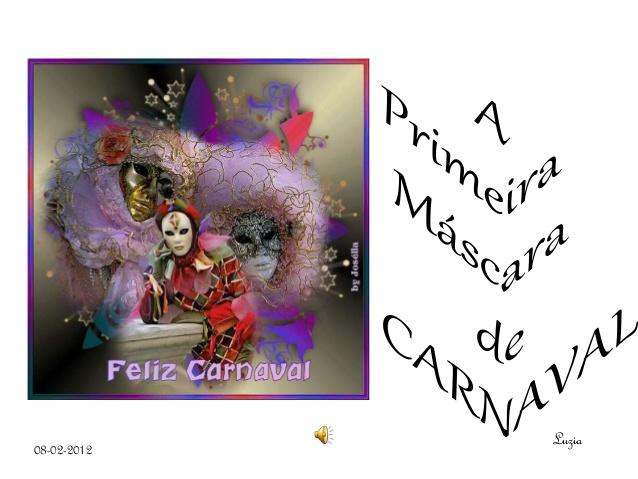 origem das mascaras de carnaval