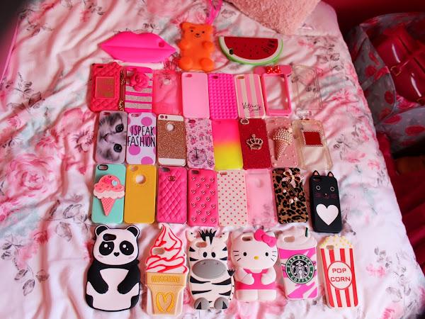 A minha mega colecção de capas de Iphone ♥