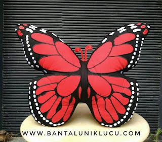 bantal kupu-kupu unik