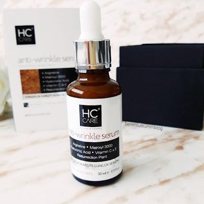 HC Care Anti-Wrinkle - Kırışıklık Karşıtı Bakım Serumu
