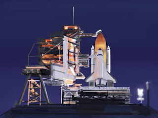Space Shuttle Ready Launch