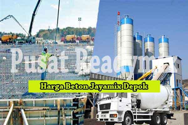 Harga Beton Jayamix Pancoran Mas Terbaru 2020