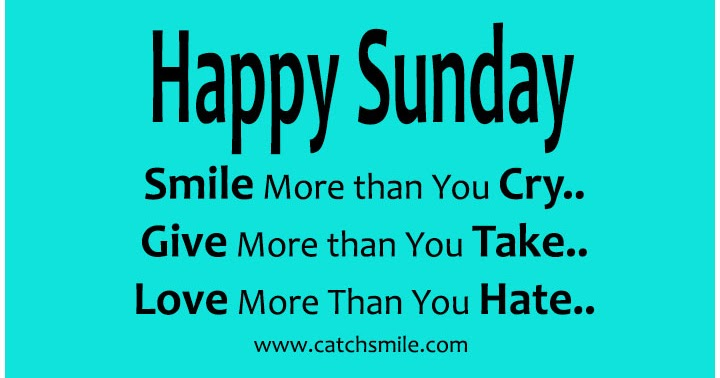 Please May I?: Sunday Smiles