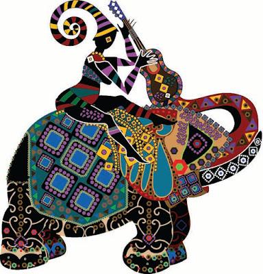 lady-girl-sitting-on-the-designer-elephant
