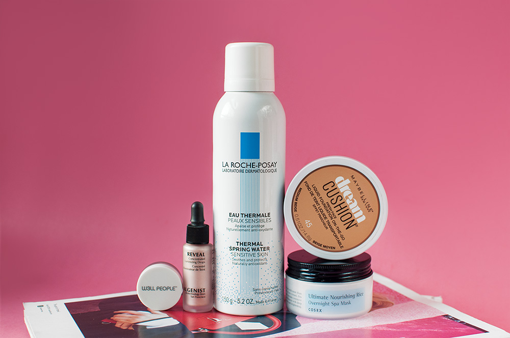 beauty favorites, beauty products, beauty product shot,