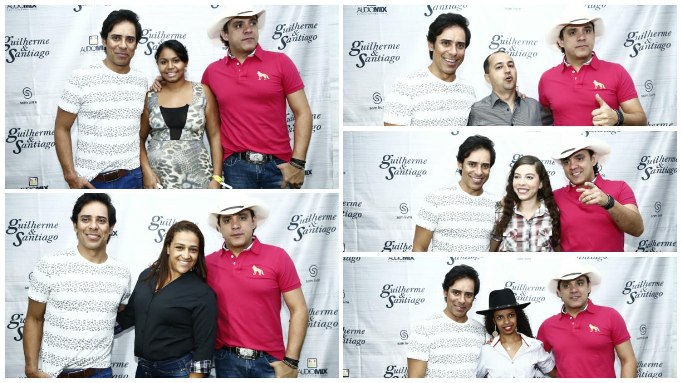 Show de Guilherme e Santiago na festa d peão, no aniversário de Padre Bernardo