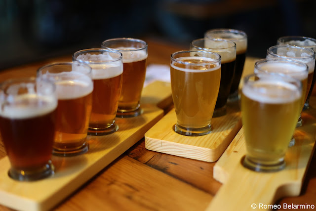 Santa Clara Valley Brewing Flights San Jose Breweries