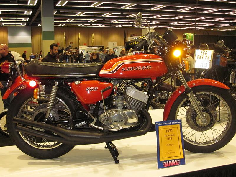 Oldmotodude 1972 Kawasaki H1b 500cc Triple At Vintage