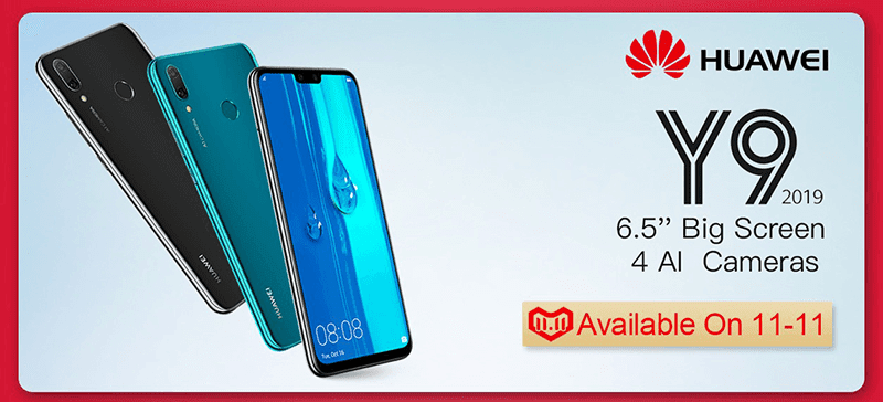 Huawei Y9 2019 and MediaPad M5 lite will be available in the Philippines on 11/11!