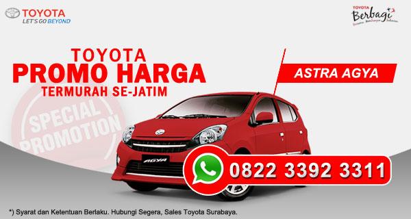 Promo Harga Toyota Agya Surabaya