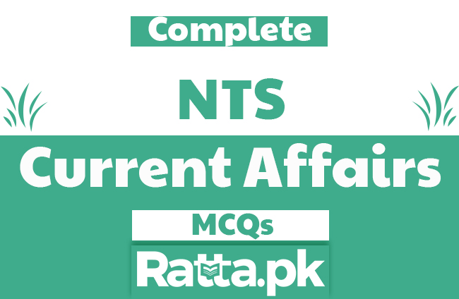 NTS Current Affairs MCQs with Answers pdf Download