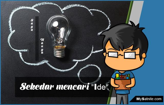 Mendapatkan Ide Untuk Menulis