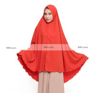 jilbab simpel lengan tertutup