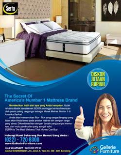 Harga kasur Spring Bed Serta Compact Murah