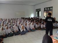 Pelajar di Kecamatan Sukasari Dibekali Bimbingan Bahaya Penyalahgunaan Narkoba
