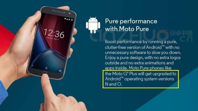 Motorola leaks Android O