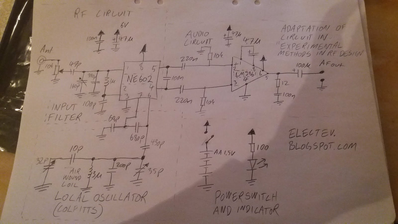 Tuning Voltagecontrolled Filter Circuit Diagram Electronic Circuit
