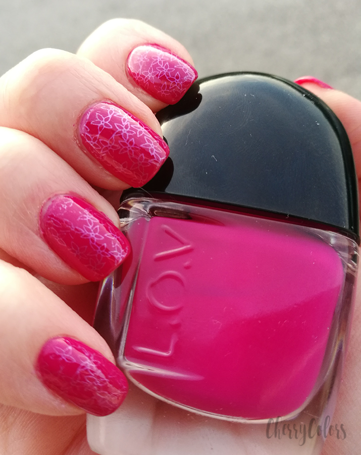 L.O.V. Cosmetics Rich Raspberry Nail Polish