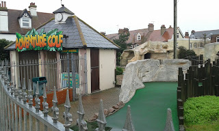 Fantasia Adventure Golf course in Felixstowe