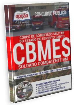 Apostila Soldado combatente BM CBM-ES - material de estudo