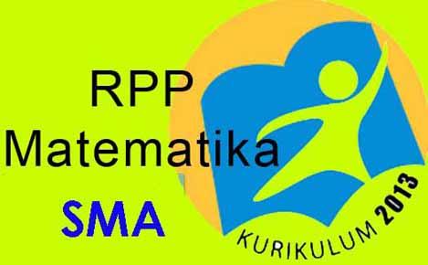 Contoh RPP Matematika Kurikulum 2013 Tahun 2018