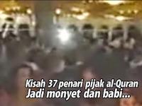 Naudzubillah! 37 Penari Wanita Ini Jadi Monyet dan Babi Usai Iinjak Al-Qur'an