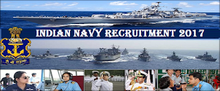 http://www.jobgknews.in/2017/08/indian-navy-recruitment-2017.html