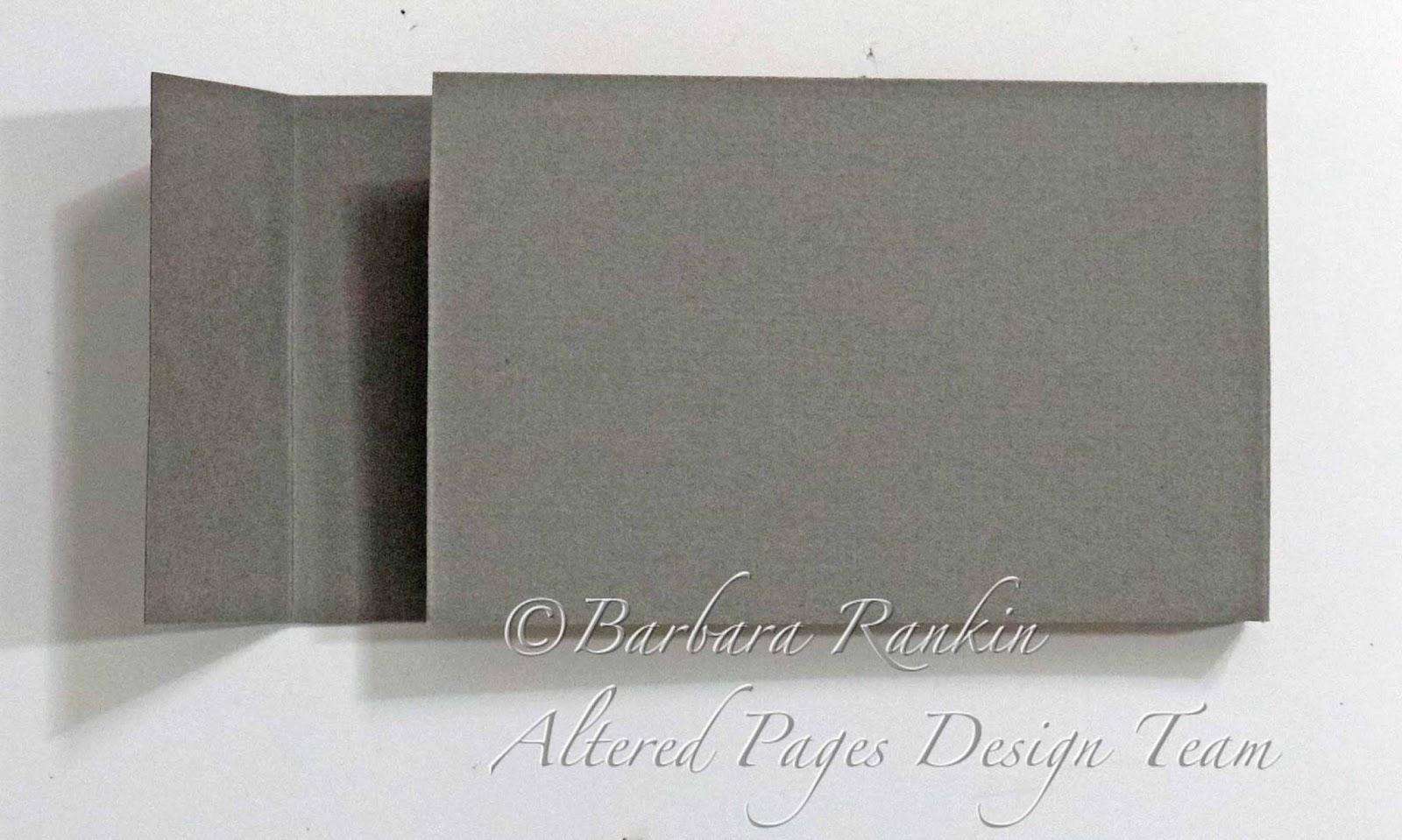 Altered Artist Mini Tag Booklet