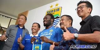 Persib Bandung Resmi Rekrut Michael Essien