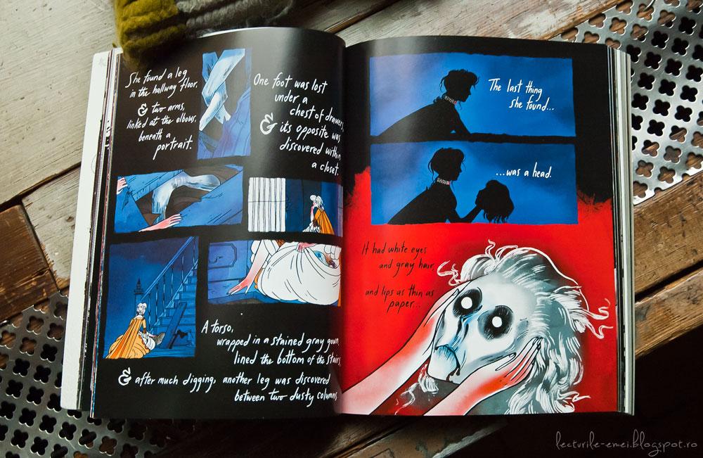 Emily Carroll carte grafică Through the Woods Prin pădure