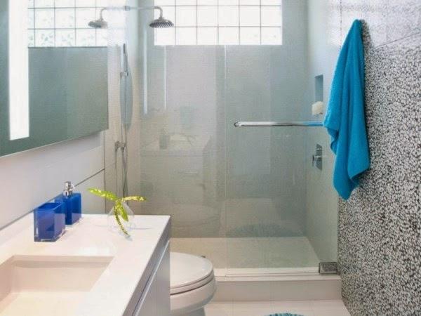 Desain kamar mandi sederhana yang nyaman dan elegan