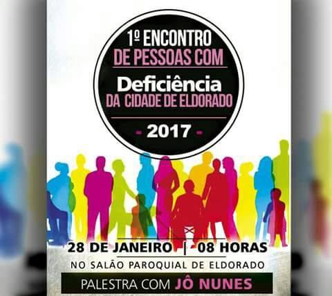 1º Encontro de Pessoas com Deficiência da Cidade de Eldorado-SP